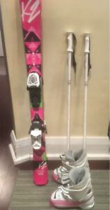 Kids ski package  great condition