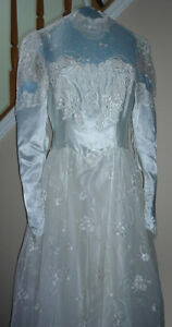 "Wedding Dress in Excellent Condition:Boxed:size 26"" waist"