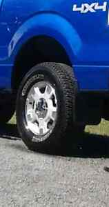 Tires and rims practically new