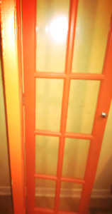 Bi-Fold French Door in lightly-used condition