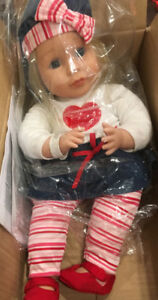 ENGLISH & FRENCH SPEAKING DOLL WITH ACCESSORIES BRAND NEW