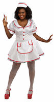 PLUS SIZE NURSE COSTUME COSTUME RUBIES SEXY WOMENS XXL XL WHITE