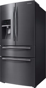 Réfrigérateur 24,7 pi³ BlackStainless Samsung ( RF25HMEDBSG )