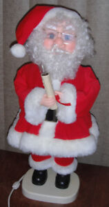 LARGE Animated Santa 25 inches tall