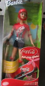 Coca-Cola Skate Board Barbie Doll...