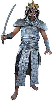 Erwachsene Latex Rüstung & Maske Demon Samurai Krieger Kostüm TV Film - Krieger Kostüm Maske