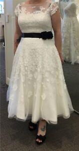 Wedding dress from Davids Bridal