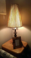 OWN STYLE LAMP SHADE AND TABLE