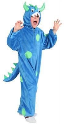 Krokodil Schnappi Drachen Kostüm Overall Plüsch Tier Dino Monster - Schnappi Kostüm