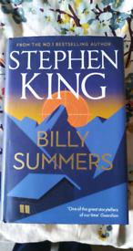 Latest Stephen King book!!