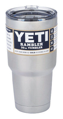 Yeti Rambler Stainless Steel Coffee Mug Cup Insulated 30oz Tumbler with Lid(new)
