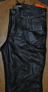 NEW WOMAN`S HARLEY DAVIDSON LEATHER RIDING PANTS