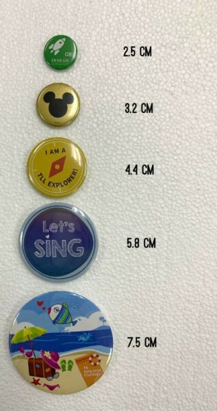 Button Badge without minimum order