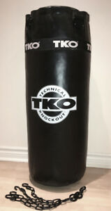 TKO Heavy Punching Bag 50lbs with Chains
