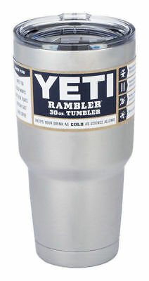 Yeti Rambler Stainless Steel Coffee Mug Cup Insulated 30oz Tumbler