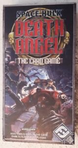 Space Hulk Death Angel The Card Game (+ 4 expansions) rare!