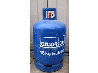 15kg butane gas bottles x 2