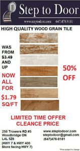 Tile Clearance Sale!!!!! Come Get them while still can