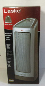 New Lasko 1500 Watt Oscillating Electronic Ceramic Tower Heater