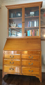 Mahogany bookcase/secretaire  - best offer