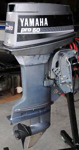 Yamaha PRO 50HP Outboard Motor Electric Start Power Tilt Trim