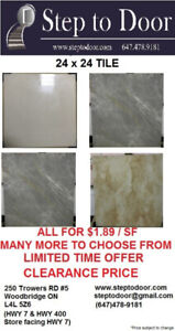 TILES FOR SALE!! EVERYTHING MUST GO!! CLEARANCE PRICE