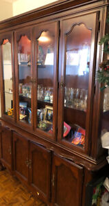 Hutch or China cabinet