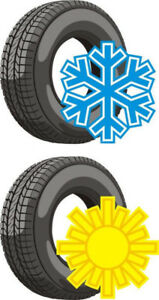 Winter Tire Change Special $10 - Must have 2 sets of Wheels