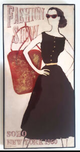 """Fashion Show 1950 New York"""