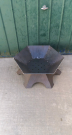 Heavy duty fire pit. Patio Heater bespoke fire pit