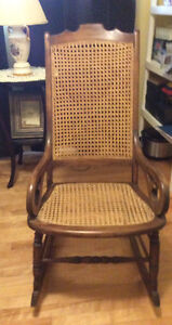 Caned Rocking Chair