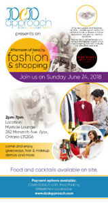 Fashion and Beauty Summer Pop-Up Shop