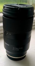 Tamron 28-75mm f2.8 lens Sony FE