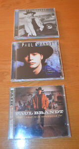 PAUL BRANDT: 3 CD's: OutsideTheFrame; CalmB4Storm; GreatestHits
