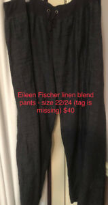 Eileen Fischer, Anthropologie and more plus size pants