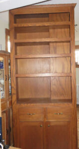 very solid shelving unit - tall 7feet 6inches