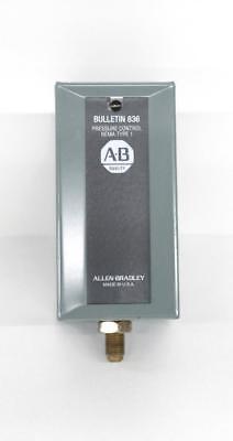 Allen Bradley 836 Bulletin Pressure Control Nema Type 1
