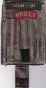 Vintage Canadian Army Field Message Pad cover