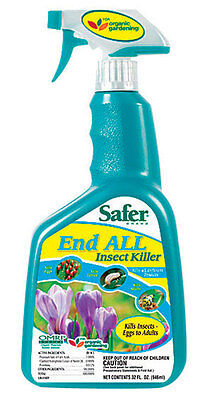 Safer  End All  Organic Insect Killer  For Crawling Insects 32 oz. Organic Insect Killer
