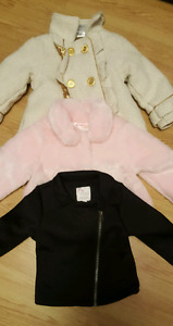 Brand new baby girl coats