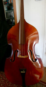 Excellent 1980's Boosey-Hawkes 400 Upright Double Bass