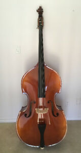 Double bass  - solid wood - 4 string