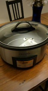 Brand new (without box) never used crock pot