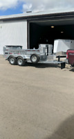Dump trailer and truck for hire