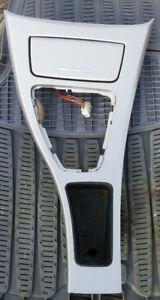 2006-2011 BMW E90 Center Console Shifter/Ashtray trim gray alum
