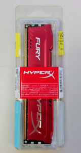 New and Sealed Kingston HyperX Fury 8GB DDR3-1866 CL 10 240-pin