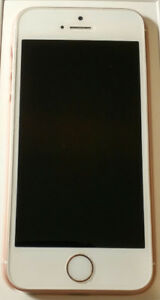 16gb Iphone SE Rose Gold- Unlocked - Mint Condition