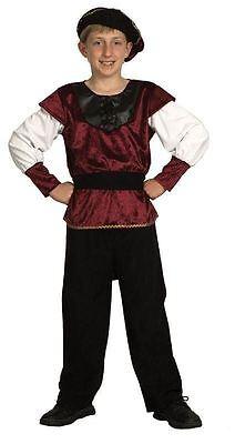 RENAISSANCE/TUDOR PRINCE, KINDER, JUNGEN FASCHINGSKOSTÜM, KINDER BUCH - Prince Junge Kostüm