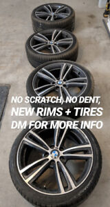 BMW M 19 inch tires and rims for sale