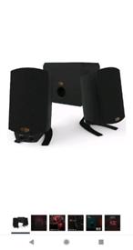 Klipsch ProMedia 2.1 Speakers, 2 Speakers & Control Pod, NO SUBWOOFER